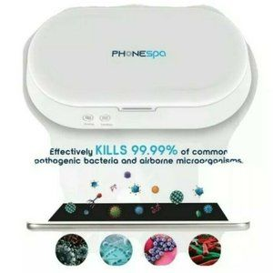 NEW! GENUINE TZUMI PHONE SPA Cell Phone Sanitizer